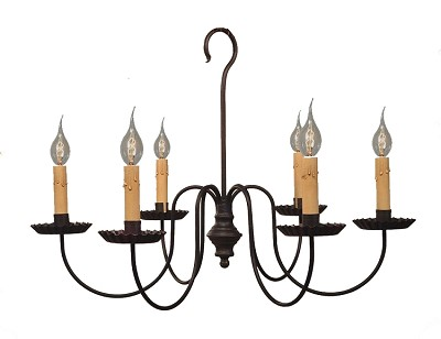 Wilcox Six-Arm Chandelier