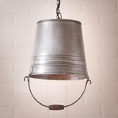 Water Bucket Pendant Light