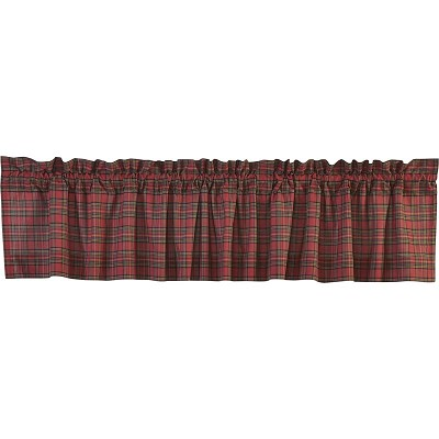 Tartan Red Plaid Curtain Collection