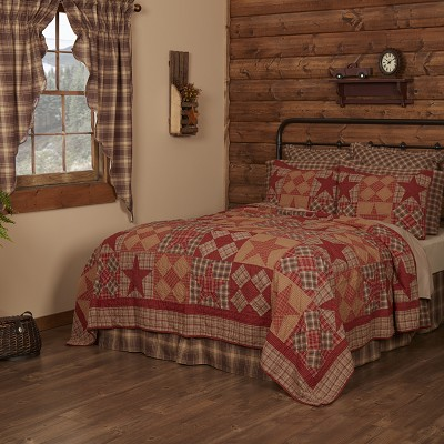 Dawson Star Quilted Bedding