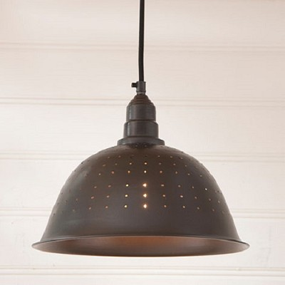 Colander Pendant Light