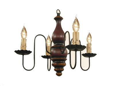 Abigail Four-Arm Chandelier